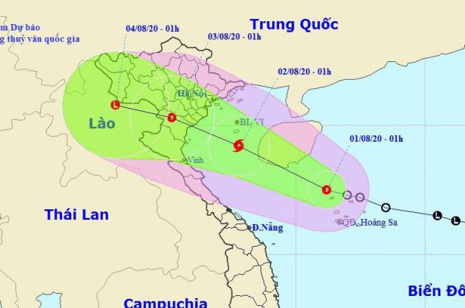 Áp thấp nhiệt đới khả năng mạnh lên thành bão, cả nước mưa dông - 1