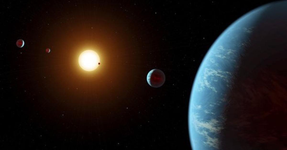 """Phát hiện siêu trái đất """"cải trang"""" kỳ lạ, hy vọng ở được - 1"""