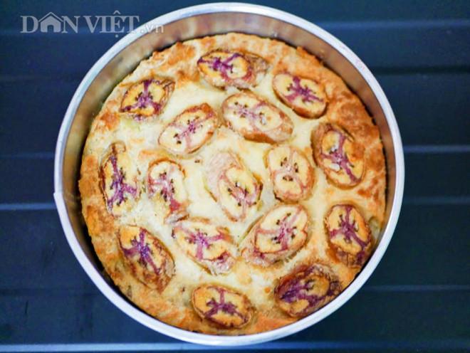 Bánh chuối nướng sầu riêng thơm phức, ngon miệng, dễ làm - 1
