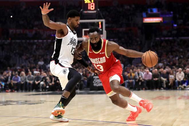 """Đỉnh cao NBA: """"Thần râu"""" ghi 49 điểm, Houston Rockets ngược dòng ngoạn mục - 1"""