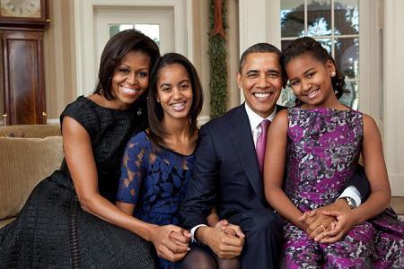 """Nguyên tắc vàng nuôi dạy con khiến cựu Tổng thống Mỹ Barack Obama trở thành """"ông bố quốc dân"""" - 1"""