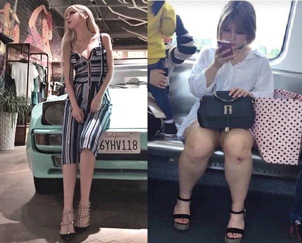 Choáng với nhan sắc thực của hot girl đình đám mạng xã hội - 1