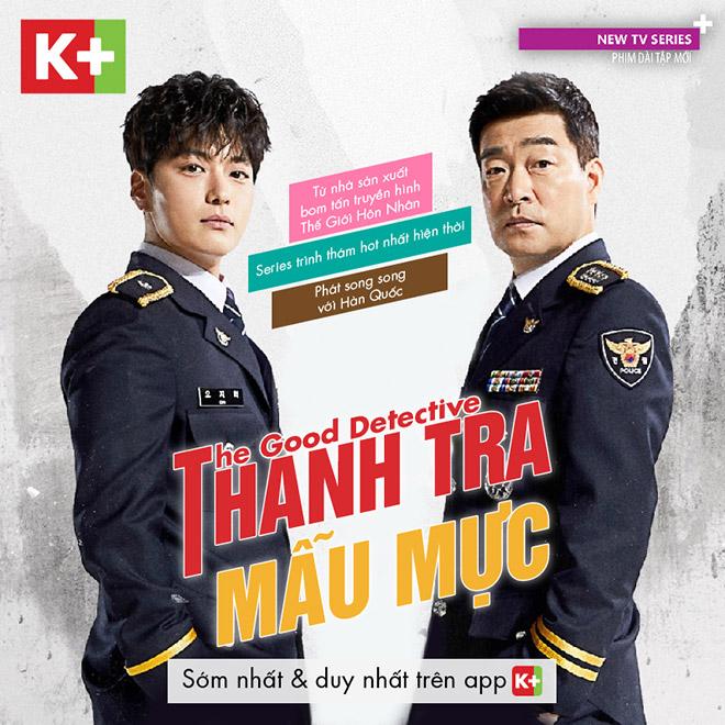 Bom tấn truyền hình The Good Detective được phát sóng tại Việt Nam - 1