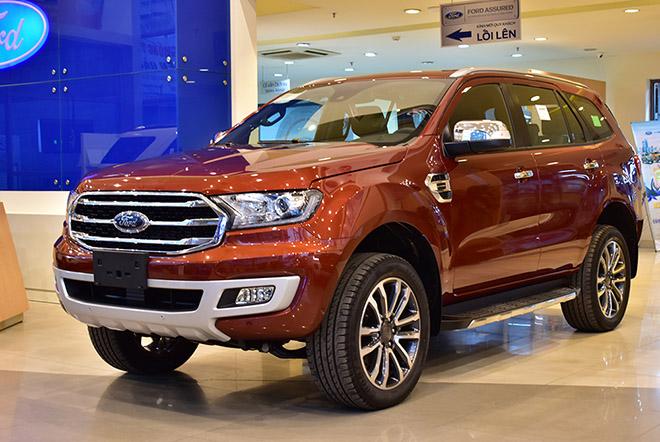 Ford Everest giảm tới 200 triệu đồng tiền mặt, giá bán thấp nhất trước giờ - 1