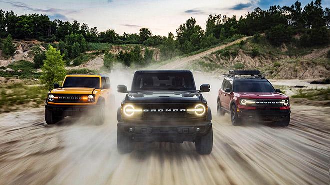 Xe SUV Ford Brocon vừa ra mắt đã cháy hàng tại Mỹ - 1