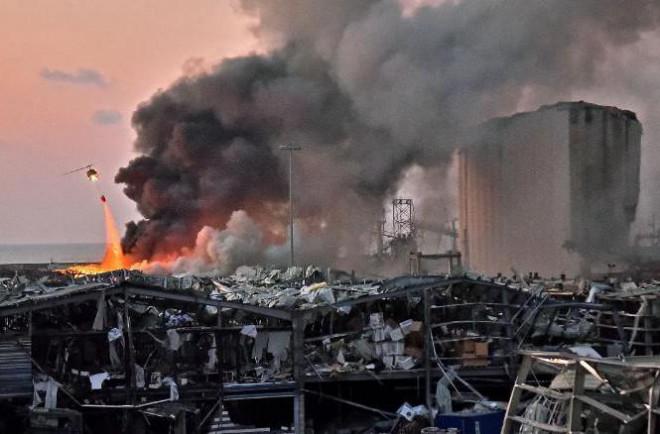 3 giả thiết về vụ nổ kinh hoàng ở Li-băng - 1