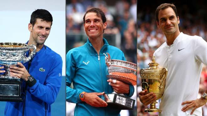 Djokovic, Nadal định chia nhau 2 Grand Slam: Federer có quyết định choáng? - 1