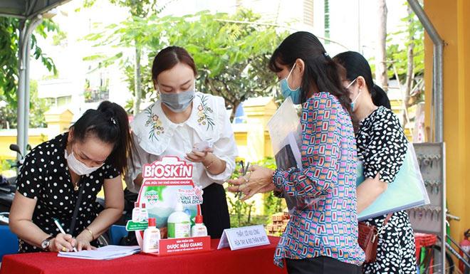 Gel rửa tay kháng khuẩn Bioskin đồng hành cùng kỳ thi Tốt nghiệp THTP năm 2020 tại TP Cần Thơ - 1