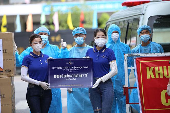 Hệ Thống Thẩm mỹ viện Ngọc Dung ủng hộ 7.000 bộ đồ bảo hộ ứng cứu Đà Nẵng - 1