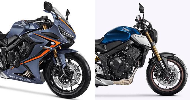 Honda sẽ trình làng cặp đôi CBR650R và CB650R vào tháng 11/2020 - 1