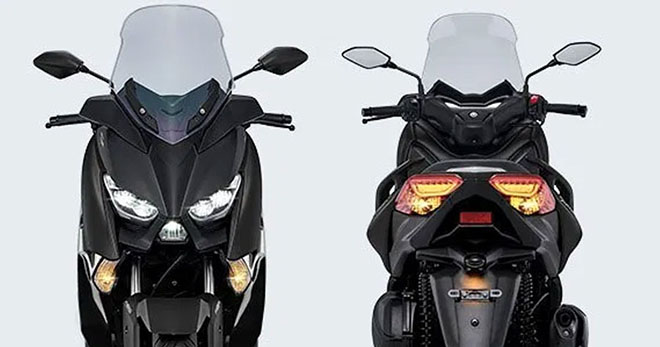 Yamaha XMAX 2021 chuẩn bị trình làng: Forza 300 lại thêm khó khăn - 1
