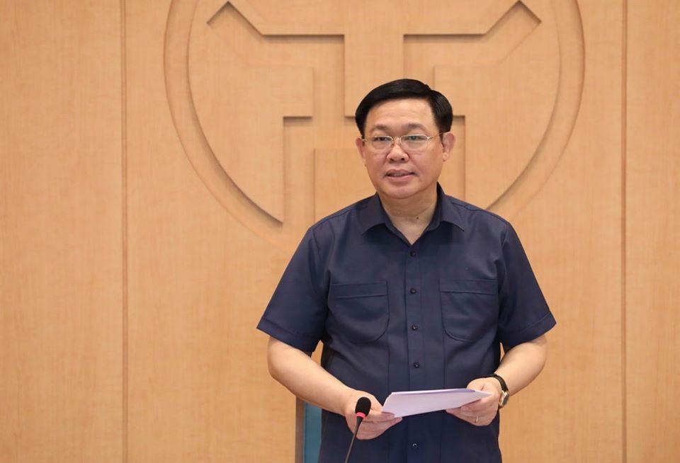 Bí thư Thành ủy Hà Nội: Giãn cách xã hội một số khu vực có nguy cơ cao - 1