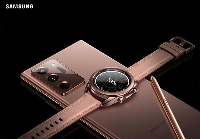 """Galaxy Watch 3 """"nóng hổi vừa ra lò"""" đã có mặt độc quyền tại Thế Giới Di Động - 1"""