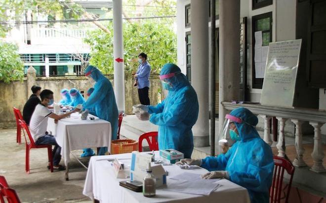 Hai ca nhiễm COVID-19 ở Quảng Trị là người yêu, có đi dâng hương, xem phim - 1
