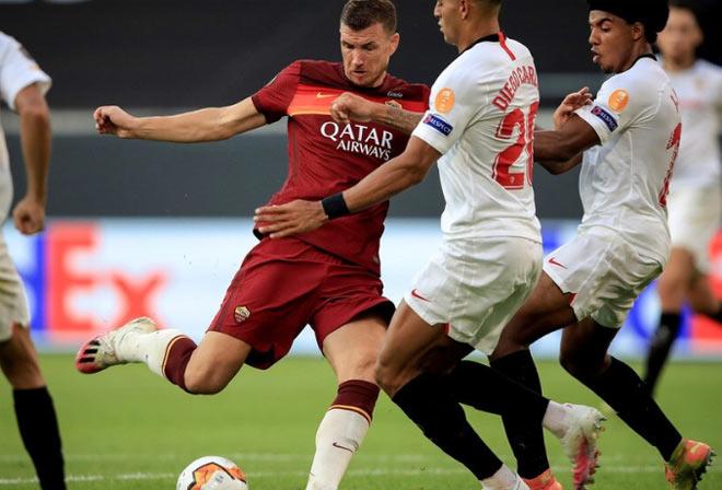 Kết quả bóng đá Europa League Sevilla - AS Roma: Định đoạt hiệp 1, thẻ đỏ hạ màn - 1