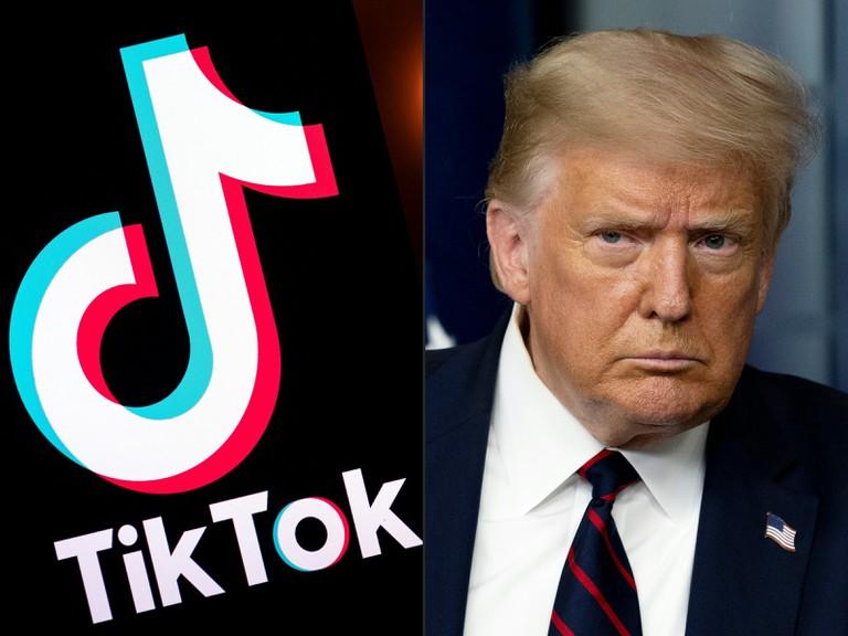 Ông Trump chính thức ra đòn với TikTok trên nước Mỹ - 1