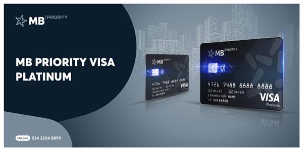 Ra mắt thẻ tín dụng quốc tế MB Priority Visa Platinum - 1