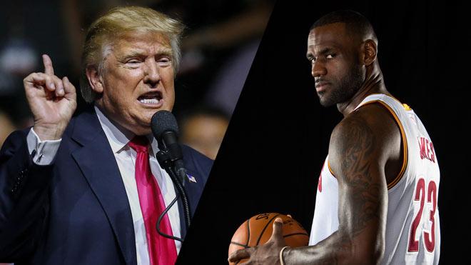 Tổng thống Trump chọc giận sao NBA, LeBron James nói câu bất cần - 1