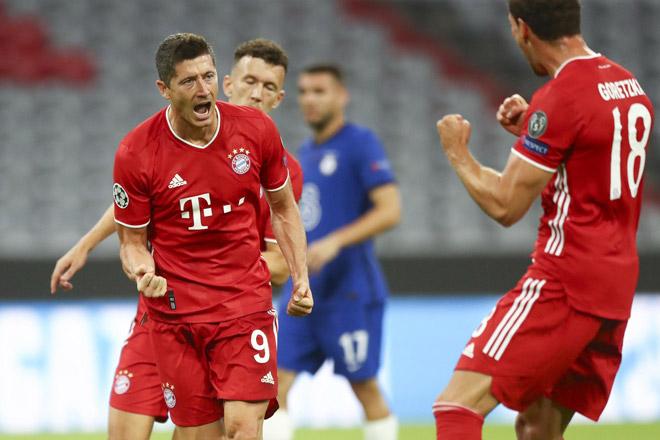 """Bayern đại thắng Chelsea: 27 bàn/6 trận, xứng danh """"Hung thần"""" thành London - 1"""