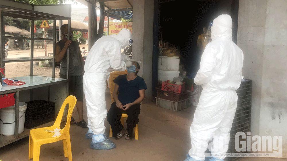 Lịch trình di chuyển của ca mắc COVID-19 thứ 6 trong một gia đình ở Bắc Giang - 1