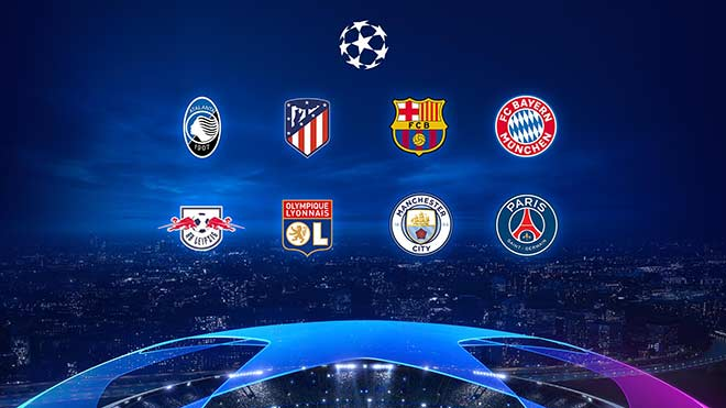 Eight men are proud to enter the quarterfinals of the European Cup: The top of Barca - Bayern, the opportunity for Man City & PSG - 1