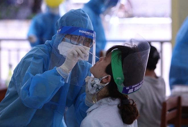 Đà Nẵng hoàn tất lấy mẫu xét nghiệm COVID-19 với 624 người sẽ về TP.HCM - 1