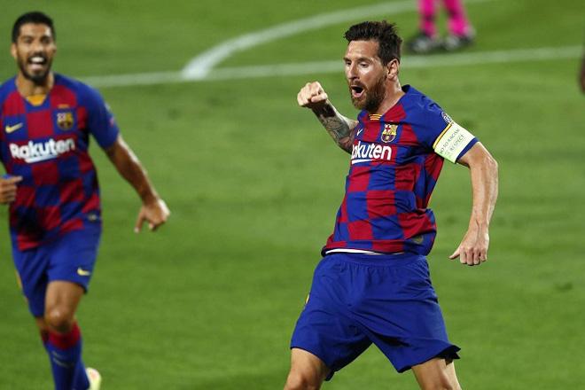 """Messi solo như trò chơi điện tử, biến 5 SAO Napoli thành """"kẻ học việc"""" - 1"""