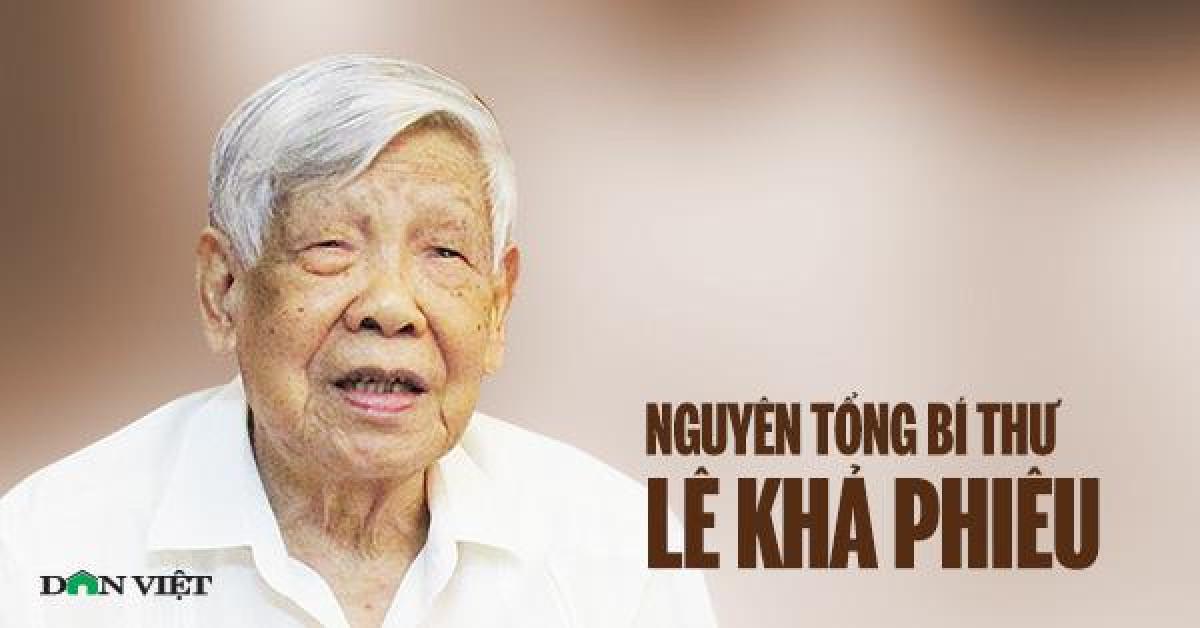 Tổng Bí thư, Chủ tịch nước làm Trưởng Ban Lễ tang nguyên Tổng Bí thư Lê Khả Phiêu - 1