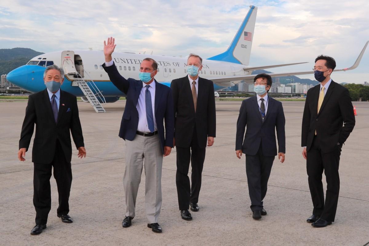 Covid-19: Đến Đài Loan không phải cách ly, Bộ trưởng Mỹ được bảo đảm an toàn ra sao? - 1