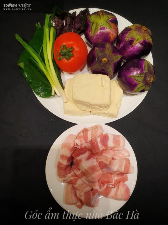 Cách nấu cà bung thịt ba chỉ ngon đúng điệu, đậm đà, dậy mùi thơm - 1