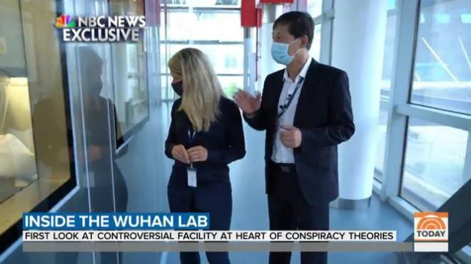 Tự minh oan, phòng thí nghiệm Vũ Hán mở cửa cho phóng viên Mỹ - 1