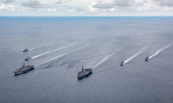 """Binh sĩ TQ """"không được phép nổ súng"""" trước máy bay, tàu chiến Mỹ ở Biển Đông - 1"""