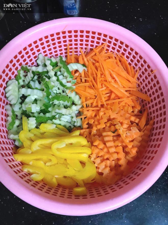 Gỏi bắp bò củ quả chua ngọt, thanh mát, kích thích vị giác - 1