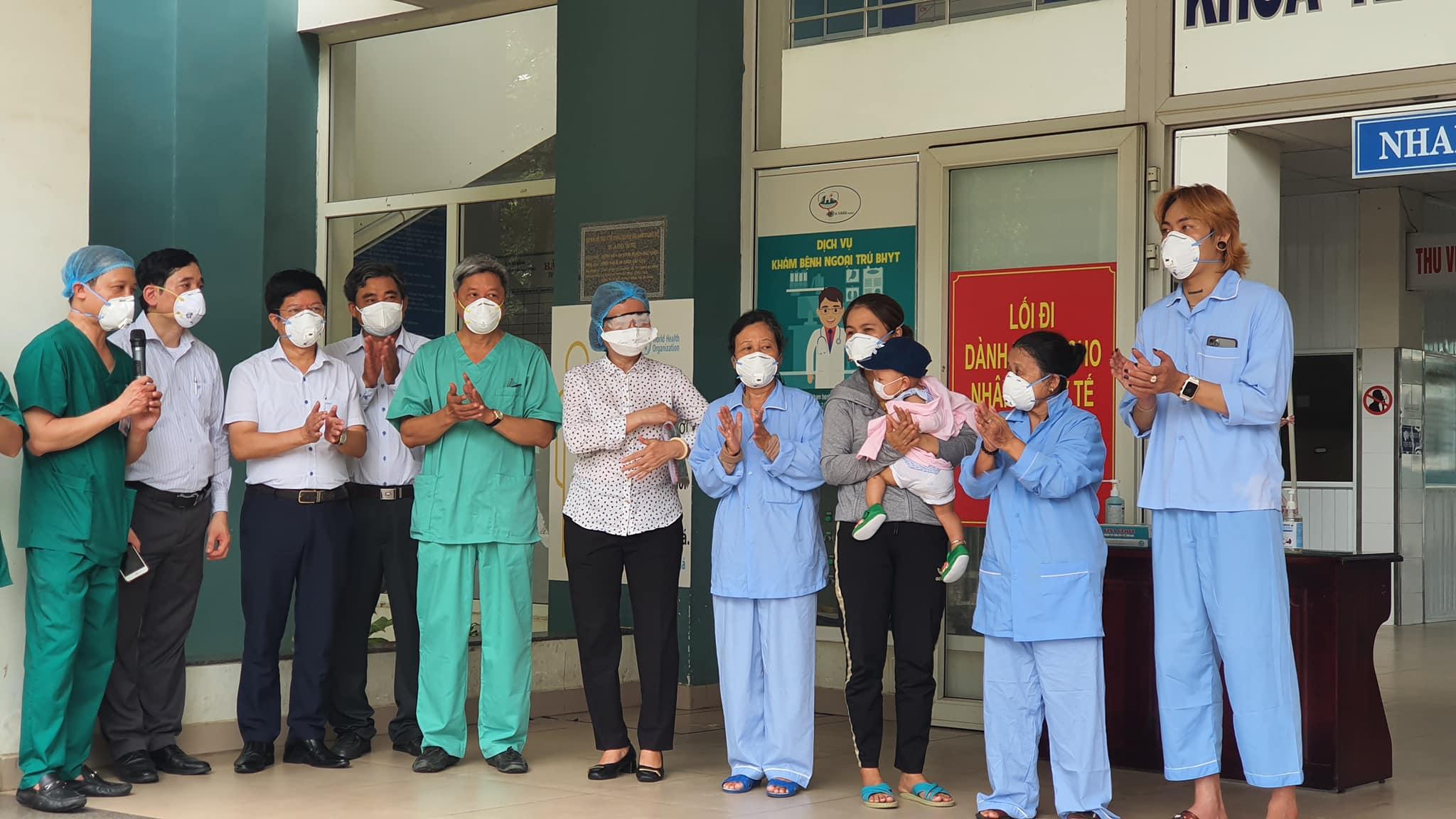 10 bệnh nhân nhiễm COVID-19 ở Đà Nẵng được công bố khỏi bệnh - 1