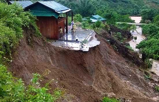 Hai cháu bé tử vong thương tâm sau cơn mưa tầm tã ở Hà Giang - 1