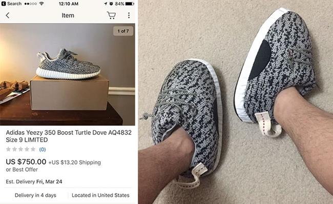 Đây mà cũng gọi là giày được sao?