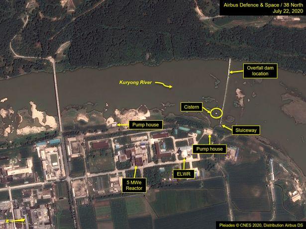 Mưa lũ lịch sử khiến cơ sở hạt nhân chính ở Triều Tiên bị hư hại? - 1