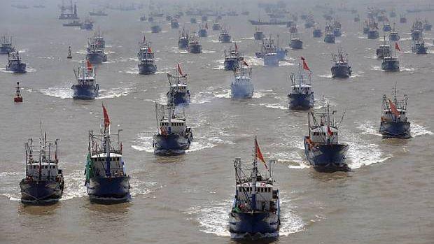 Đội tàu cá TQ đông chưa từng thấy gần quần đảo Ecuador: Chuyên gia phản bác Ngoại trưởng Mỹ - 1