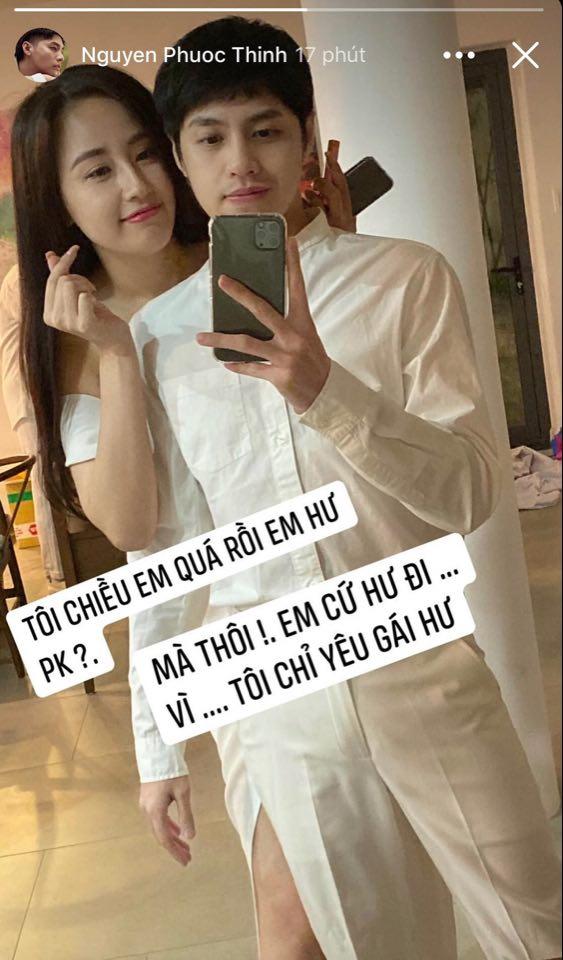 """Mai Phương Thúy tình tứ, xưng hô """"vợ chồng"""" với Noo Phước Thịnh lúc nửa đêm gây ngỡ ngàng - 3"""