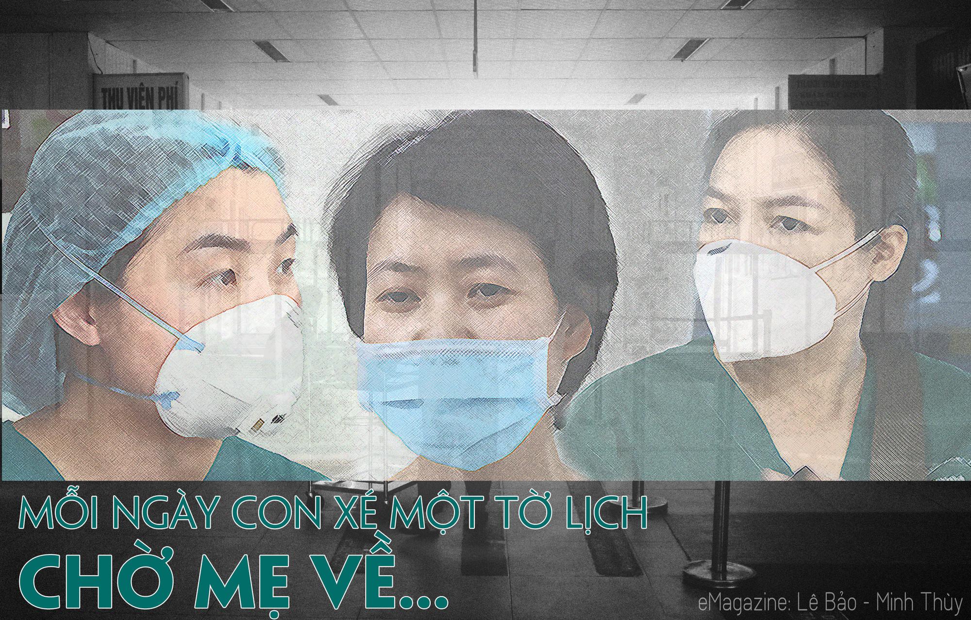 """[Nhật ký từ tâm dịch Đà Nẵng] - Chuyện chưa kể của 3 nữ chiến binh """"kiểm soát nhiễm khuẩn"""" - 1"""