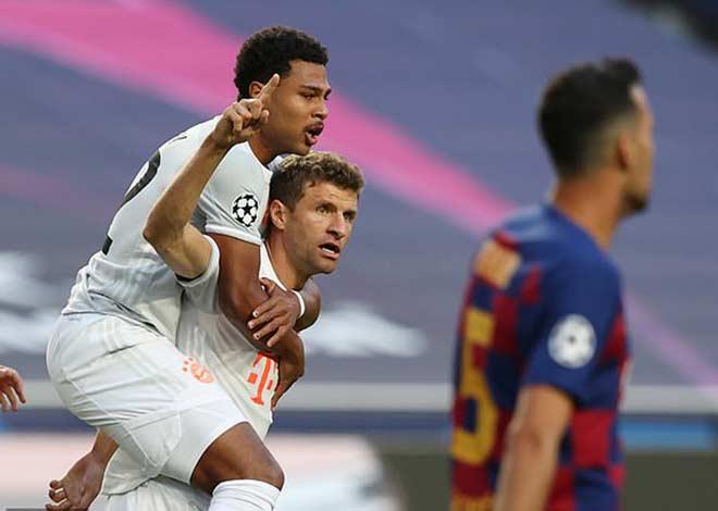 Địa chấn Cúp C1: Messi ôm đầu nhìn Bayern hủy hoại Barca 8-2 - 1