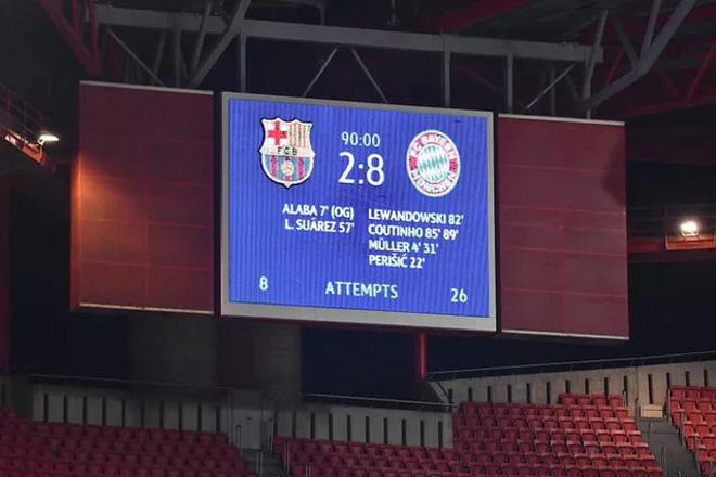 Thất bại 2-8 trước Bayern có phải trận thua đậm nhất trong lịch sử Barca? - 1
