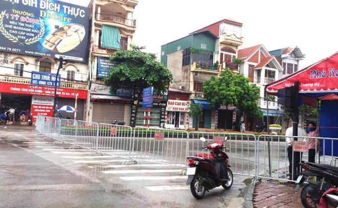 Đóng một số cửa ngõ, người dân không được ra khỏi thành phố Hải Dương từ 0h ngày 16/8 - 1