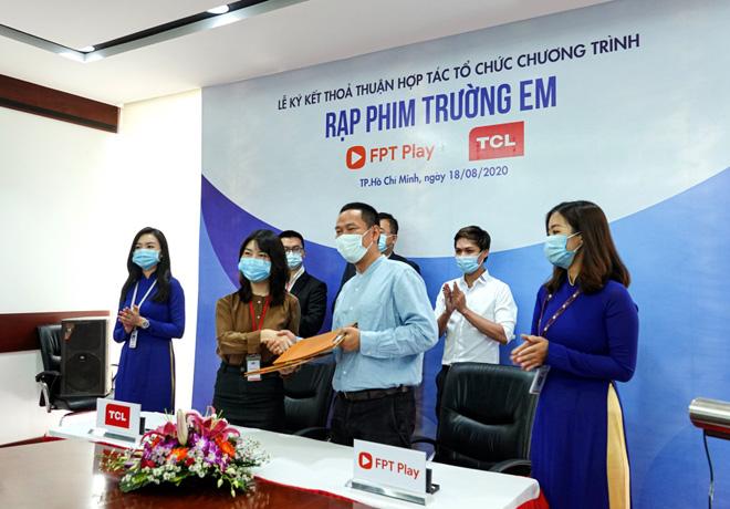 """FPT Play và TCL Vietnam khởi động """"Rạp Phim Trường Em"""" mùa 2 với tổng kinh phí hơn 1,5 tỷ đồng - 1"""
