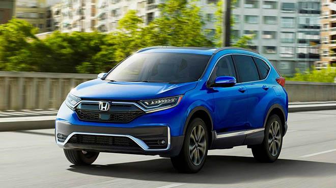 Honda CR-V lọt top xe tốt nhất lịch sử của thương hiệu - 1