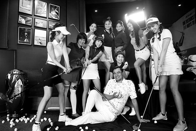 """Chủ tịch CLB Passion Golf – """"Tôi nhìn giống ông bố với những đứa con gái"""" - 1"""