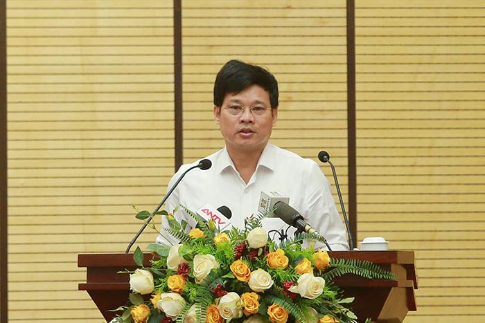Hà Nội: Đề nghị xử lý hàng quán tại cổng bệnh viện vi phạm phòng, chống dịch COVID-19 - 1