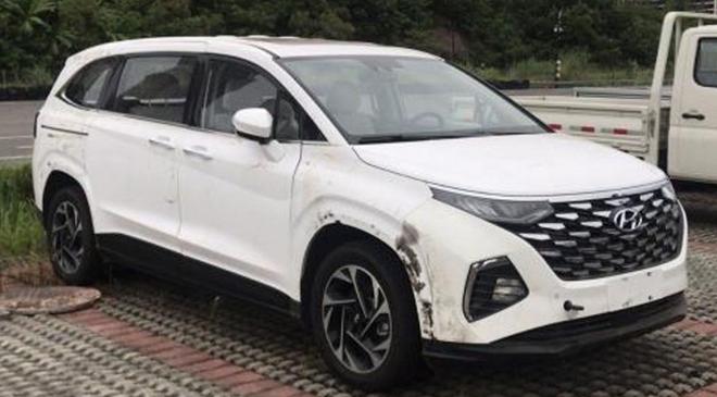 Hyundai Custo lộ diện, đối thủ cạnh tranh với Kia Sedona - 1