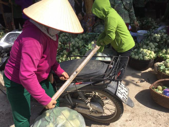 Lạng Sơn: Chợ na lớn nhất nước vào mùa - 1
