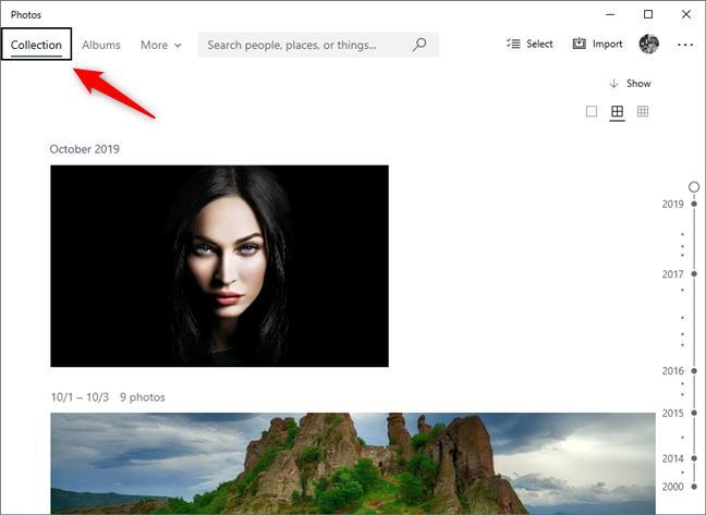 Những tính năng thú vị của Photo trên Windows 10 có thể bạn chưa biết - 1